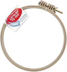 click here to view larger image of No-Slip Embroidery Hoop 10 inch (accessory)
