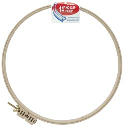 click here to view larger image of Plastic No-Slip Embroidery Hoop 14 inch (Morgan Products) (accessory)