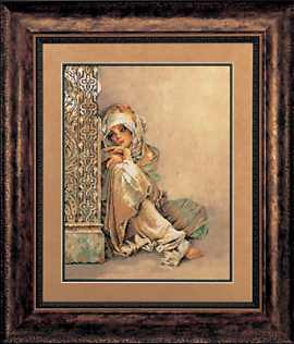click here to view larger image of Arabian Woman (counted cross stitch kit)