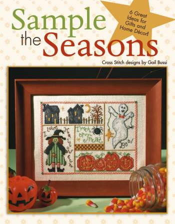 click here to view larger image of Sample the Seasons in Cross Stitch (chart)