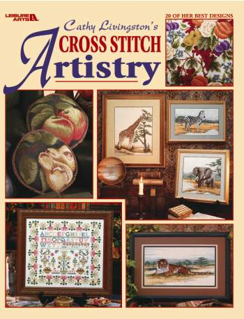 click here to view larger image of Cathy Livingston's Cross Stitch Artistry (book)