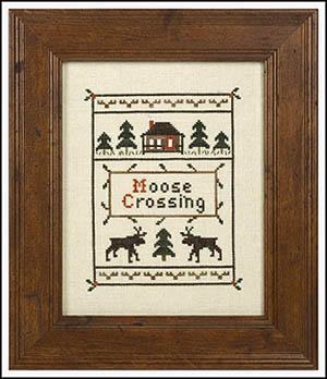 click here to view larger image of Moose Crossing (chart)