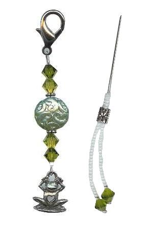 click here to view larger image of Mini Fob Set - Green Iridescent  (accessory)