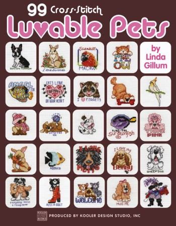 click here to view larger image of 99 Cross Stitch Luvable Pets (chart)