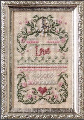 click here to view larger image of Cupid's Teenie Sampler  - Chart Pack (chart)