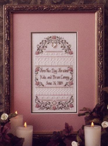 click here to view larger image of From This Day Forward (Limited Edition Kit) (counted cross stitch kit)