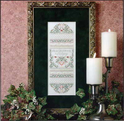 click here to view larger image of Fanciful Roses Sampler (Limited Edition Kit) (counted cross stitch kit)