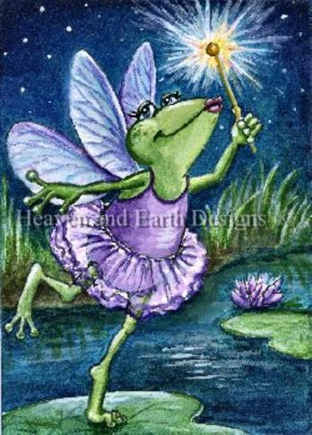 click here to view larger image of Fairy Frog Mother - Quick Stitch (chart)