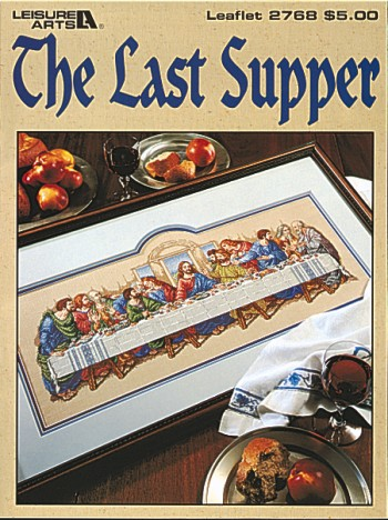 click here to view larger image of Last Supper, The (chart)