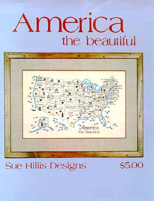 click here to view larger image of America The Beautiful (chart)