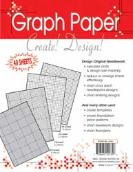 "click here to view larger image of Needlework Graph Paper 8-1/2""X11"" (40 Assorted) (accessory)"
