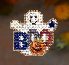 click here to view larger image of Boo Ghost (2006) (counted cross stitch kit)