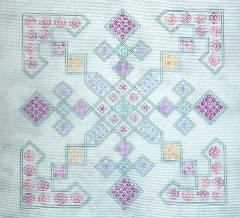 click here to view larger image of Celtic Knot Garden (chart)