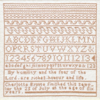 click here to view larger image of Charlotte Bronte Sampler (chart)