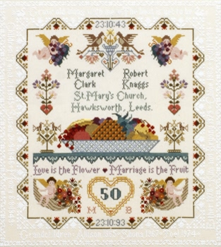 click here to view larger image of Anniversary/Wedding Sampler (chart)