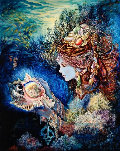 click here to view larger image of Daughter of the Deep - Josephine Wall (chart)