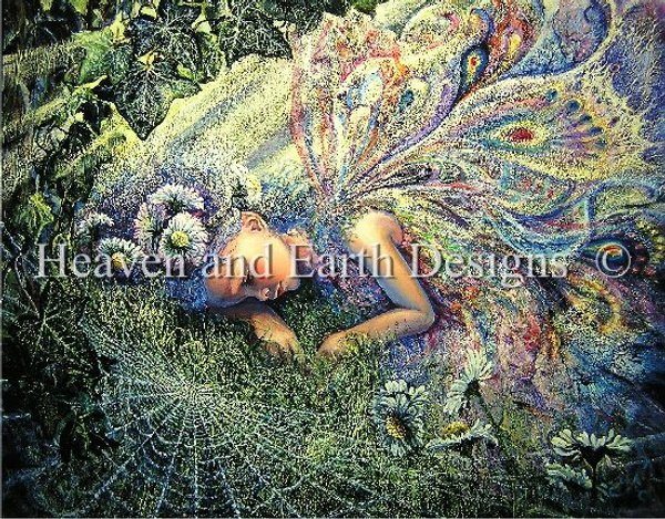 click here to view larger image of Caught By A Sunbeam - Josephine Wall (chart)
