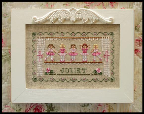 click here to view larger image of Little Ballerinas (chart)