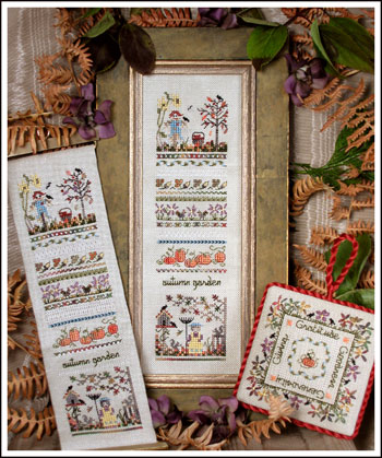 click here to view larger image of Autumn Garden Sampler (chart)