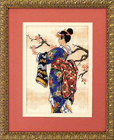 click here to view larger image of Mai (counted cross stitch kit)