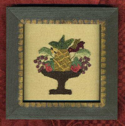 click here to view larger image of Abundant Compote (Punchneedlew/fabric) (Punchneedle)