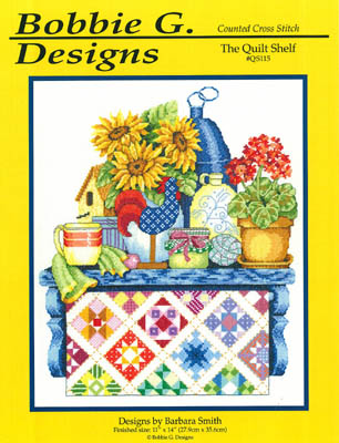 click here to view larger image of The Quilt Shelf (chart)