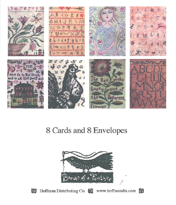 click here to view larger image of Sampler Notecards Assortment Pack (8 cards) (accessory)