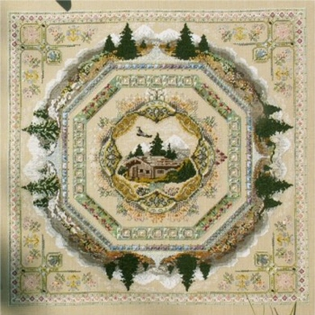click here to view larger image of Alpine Garden Mandala (chart)