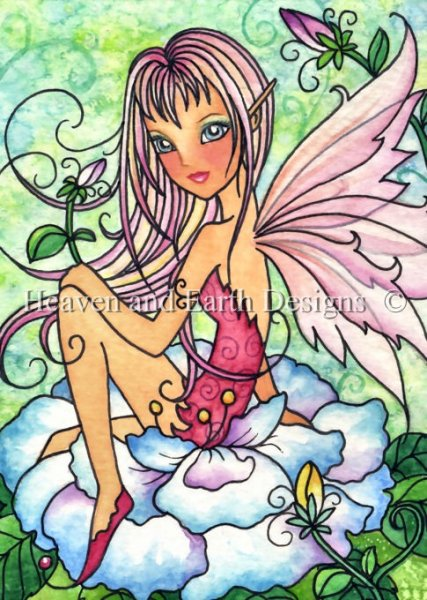 click here to view larger image of Sugar Blush Fae - Quick Stitch (chart)