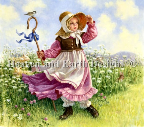 click here to view larger image of Little Bo Peep (chart)