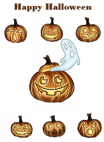 click here to view larger image of All Hallows Pumpkins - Tiny Treasures (chart)