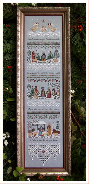click here to view larger image of Heirloom Nativity Sampler (chart)