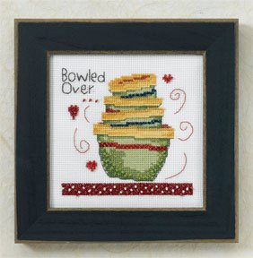 click here to view larger image of Bowled Over (counted cross stitch kit)