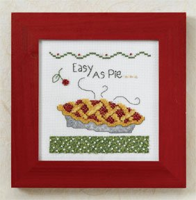 click here to view larger image of Easy As Pie  (counted cross stitch kit)