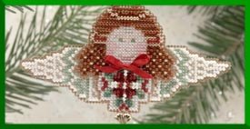 click here to view larger image of Fern Angel (2000) - Ornament (counted cross stitch kit)