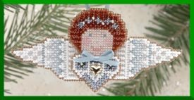 click here to view larger image of Celeste  Angel (2000) - Ornament (counted cross stitch kit)