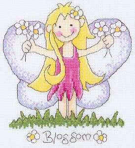click here to view larger image of Blossom - Lili of the Valley - Garden Fairies (chart)