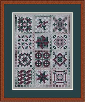click here to view larger image of Friendship Quilt II for Landscapes (chart)