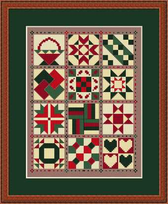 click here to view larger image of Friendship Quilt For All Seasons (chart)
