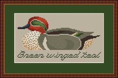 click here to view larger image of Green Winged Teal (chart)