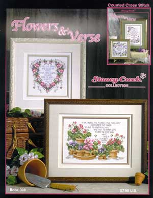 click here to view larger image of Flowers and Verse (book)
