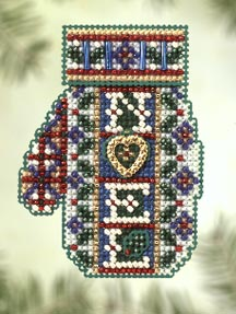click here to view larger image of Noel Heart (2005) (counted cross stitch kit)