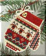 click here to view larger image of Warm and Wooly (2004) (counted cross stitch kit)