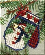 click here to view larger image of Frosty (2004) (counted cross stitch kit)
