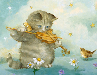 click here to view larger image of Cat And The Fiddle - Tiny Treasures (chart)