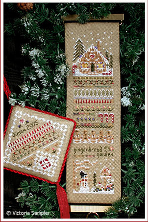 click here to view larger image of Gingerbread Garden Sampler (chart)