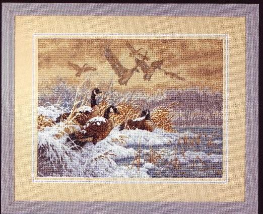 click here to view larger image of Winter Retreat (counted cross stitch kit)