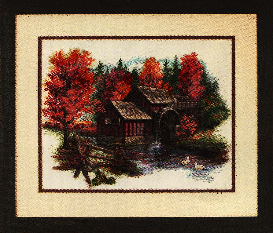 click here to view larger image of Glory of Autumn (counted cross stitch kit)