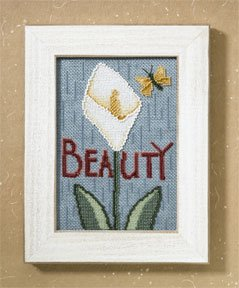 click here to view larger image of Beauty (2007) (counted cross stitch kit)