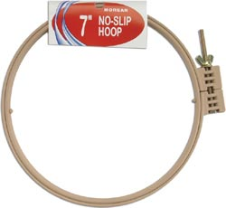 click here to view larger image of No-Slip Embroidery Hoop 7 inch (accessory)